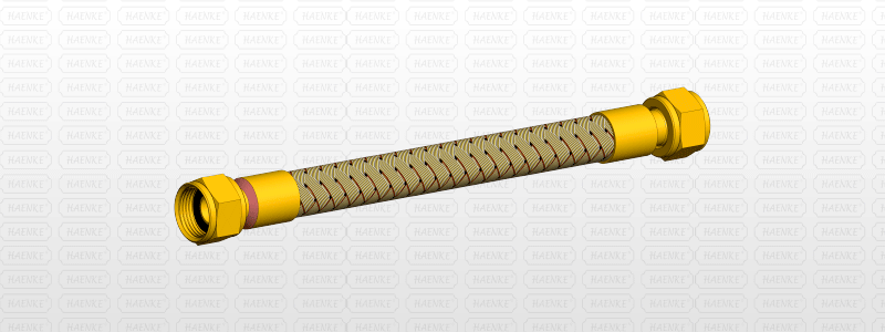 Flexible Brass Tube (tomback)